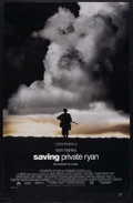 "Movie Posters:War, Saving Private Ryan (Paramount, 1998). One Sheet (27"" X 41"")Double-Sided. War. Starring Tom Hanks, Edward Burns, Tom Sizemo...(Total: 2 Items)"