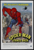 "Movie Posters:Action, Spider-Man Strikes Back (Charles Fries Productions, 1978). OneSheet (27"" X 41""). Comic Book Action. Starring Nicholas Hammo..."