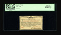 Colonial Notes:New York, New York January 6, 1776 (Water Works) 8s PCGS Choice New 63PPQ....