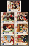"""Movie Posters:Comedy, That Funny Feeling (Universal, 1965). Lobby Cards (7) (11"""" X 14""""). Comedy. Starring Sandra Dee, Bobby Darin, Donald O'Connor... (Total: 7 Items)"""