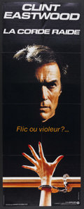 """Movie Posters:Thriller, Tightrope (Warner Brothers, 1984). French Door Panel (23.25"""" X 61.5""""). Thriller. Starring Clint Eastwood, Geneviève Bujold, ..."""