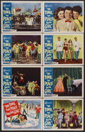 """Movie Posters:Musical, The Time, the Place and the Girl (Warner Brothers, 1946). Lobby Card Set of 8 (11"""" X 14""""). Musical Comedy. Starring Dennis M... (Total: 8 Items)"""