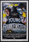 "Movie Posters:Comedy, Young Frankenstein (Universal, 1974). One Sheet (27"" X 41"") Style B. Comedy. Starring Gene Wilder, Madeline Kahn, Teri Garr,..."