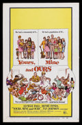"""Movie Posters:Comedy, Yours, Mine and Ours (United Artists, 1968). Window Card (14"""" X 22""""). Family Comedy. Starring Lucille Ball, Henry Fonda, Van..."""