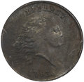 Large Cents, 1793 Chain 1C Periods AU53 NGC. S-4, B-5, R.3....