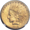 Indian Eagles, 1912-S $10 MS64+ NGC....