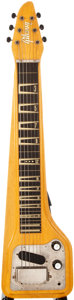 Musical Instruments:Lap Steel Guitars, 1960 Gibson Skylark Natural Lap Steel Guitar, #012384....