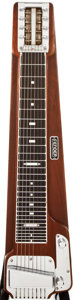 Musical Instruments:Lap Steel Guitars, Early 1950s Fender Deluxe Walnut Lap Steel Guitar, #N/A....
