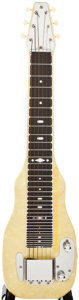Musical Instruments:Lap Steel Guitars, Early 1950s Fender Champion Pearloid Lap Steel Guitar, #7147....