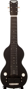 Musical Instruments:Lap Steel Guitars, 1938 Rickenbacker Model 59 Black Crinkle Lap Steel Guitar,#E1282....