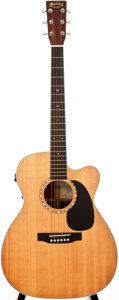 Musical Instruments:Acoustic Guitars, 2004 Martin JC-16RGTE Natural Acoustic Electric Guitar, #1018596....