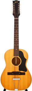 Musical Instruments:Acoustic Guitars, 1965 Gibson B-25-12N Natural Acoustic Guitar, #324224....