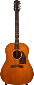 Musical Instruments:Acoustic Guitars, 1952 Gibson J-50 Natural Acoustic Guitar, #Z2160 24....