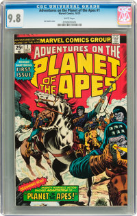 Adventures on the Planet of the Apes #1 (Marvel, 1975) CGC NM/MT 9.8 White pages