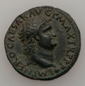 Ancients:Roman Imperial, Ancients: Nero (AD 54-68). Æ as (10.14 gm). ...