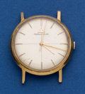 Timepieces:Wristwatch, Jaeger LeCoultre 18k Gold Manual Wind Center Seconds Wristwatch....