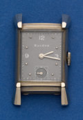 Timepieces:Wristwatch, Bulova 14k White Gold Wristwatch. ...
