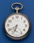 Timepieces:Pocket (post 1900), Ulysse Nardin .800 Silver Corps Of Engineers Pocket Watch. ...