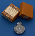 Timepieces:Pocket (post 1900), Hamilton Very Sharp 22 Jewel 4992 B With Original Box. ...