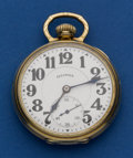 Timepieces:Pocket (post 1900), Illinois Stiff Bow 23 Jewel Sangamo Special Pocket Watch. ...