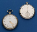 Timepieces:Pocket (post 1900), Two Omega Pocket Watches. ... (Total: 2 Items)