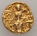 Ancients:Ancient Lots  , Ancients: INDIA. Kushan Empire. Lot of two gold dinars (2). ... (Total: 2 coins)