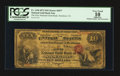 Stockton, CA - $10 Original National Gold Bank Note Fr. 1146 The First National Gold Bank Ch. # 2077