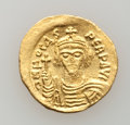 Ancients:Byzantine, Ancients: Phocas (602-610). AV solidus (4.45 gm). ...
