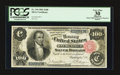 Large Size:Silver Certificates, Fr. 344 $100 1891 Silver Certificate PCGS Apparent Very Fine 30.....