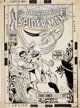 John Romita Sr. Amazing Spider-Man #49 Kraven and Vulture Cover Original Art (Marvel, 1967)