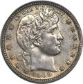 Barber Quarters, 1909-O 25C MS64 PCGS....