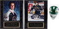 Hockey Collectibles:Others, Hockey Greats Signed Lot of 3....
