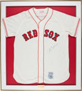 Baseball Collectibles:Uniforms, Carl Yastrzemski Signed Jersey....