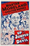Memorabilia:Poster, Up Jumped the Devil Movie Poster (Dixie National Pictures,1941)....