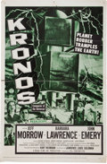 Memorabilia:Poster, Kronos Movie Poster (20th Century-Fox, 1957)....
