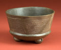 American Indian Art:Pottery, Mayan Incised Bowl with Playful Monkeys...