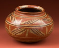 Pre-Columbian:Ceramics, Polychrome Decorated Chupicuaro Jar...