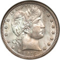 Barber Quarters, 1914-S 25C MS65 NGC....