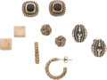 Estate Jewelry:Earrings, Sterling Silver, Gold Earrings, Tiffany & Co., John Hardy,David Yurman. ...