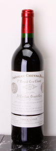 Red Bordeaux, Chateau Cheval Blanc 1993 . St. Emilion. 1lbsl. Bottle (1).... (Total: 1 Btl. )