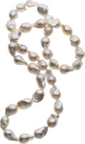 Estate Jewelry:Necklaces, South Sea Cultured Pearl Necklace. ...