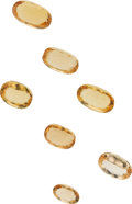 Estate Jewelry:Unmounted Gemstones, Unmounted Topaz . ...