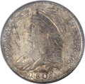 Bust Half Dollars, 1807 50C Large Stars, 50 Over 20 MS61 NGC. O-112, R.1....