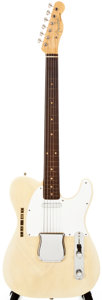 Musical Instruments:Electric Guitars, 1959 Fender Telecaster Blonde Solid Body Electric Guitar,#38223....
