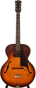 Musical Instruments:Electric Guitars, 1955 Gibson ES-125 Sunburst Semi-Hollow Body Electric Guitar, #W111025....