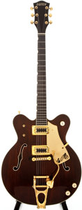 Musical Instruments:Electric Guitars, 1983 Gretsch 7670 Walnut Semi-Hollow Body Electric Guitar,#3-3006....