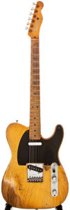 Musical Instruments:Electric Guitars, 1952 Fender Telecaster Butterscotch Blonde Solid Body ElectricGuitar, #N/A....