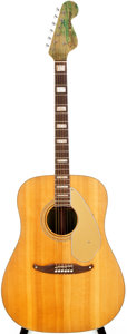 Musical Instruments:Acoustic Guitars, Late 1960s Fender Wildwood I Wildwood Acoustic Guitar, #14526....