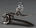 Silver Holloware, American:Napkin Rings, A TUFTS SILVER-PLATED FIGURAL NAPKIN CLIP . James W. Tufts, Boston,Massachusetts, circa 1875. Marks: JAMES W. TUFTS, BOST...
