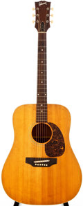 Musical Instruments:Acoustic Guitars, 1970 Gibson J-50 Natural Acoustic Guitar, #909755....